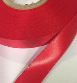 Satijn lint Rood 15mm