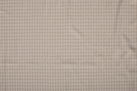 LINNEN VISCOSE EMBRODERY SMALL CHECK 11564/151 per 25cm