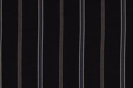 CREPE DE LUXE PRINT STRIPE 12430/069 per 25cm