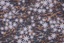 CREPE PRINT FLOWER 11267/011 / 25cm