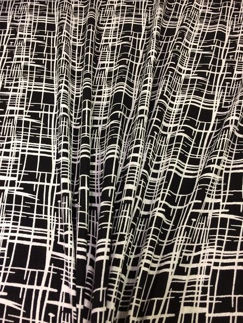 Yoryu print stripes NB 2070/069 per 25cm