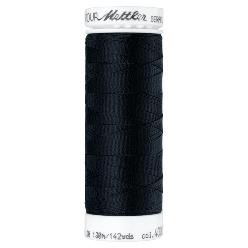 Seraflex elastisch naaimachine garen  130m kleur 4000