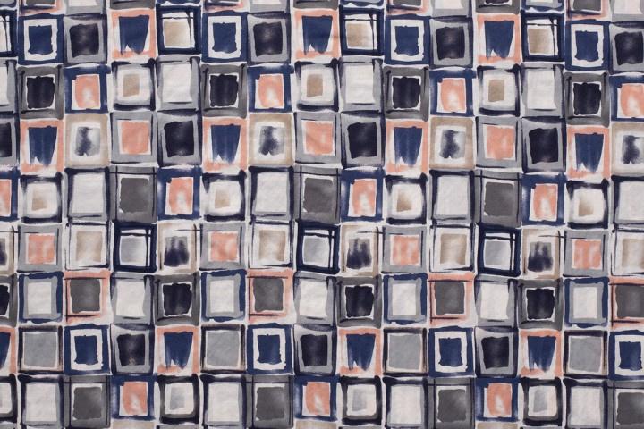 VISCOSE NYLON PRINTED SQUARES 11221/011 /25cm