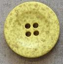 Modeknoop pastel geel 20mm 3537S