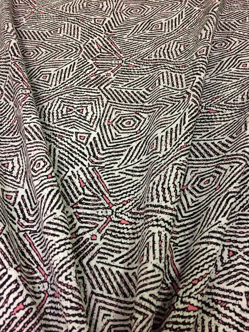 Rayon Printed NB2084/014 per 25cm