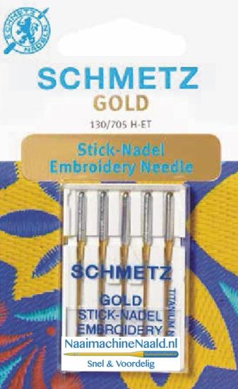 Schmetz Gold naalden 130/705 H-ET