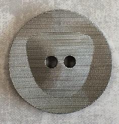 Modeknoop 63403 Donker zilver 30mm