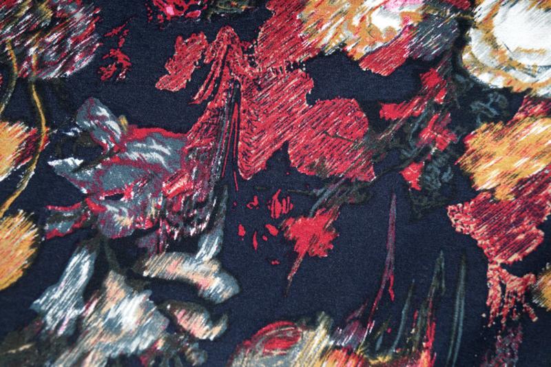 Fantasie tricot Multi NB 9189/008 140cm/ per 25cm