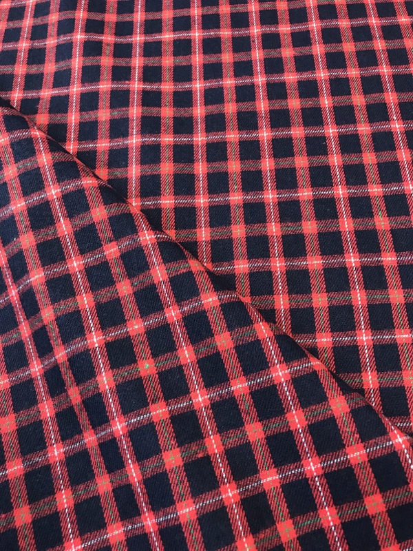 Brushed check By Poppy 04934.007 per 25cm