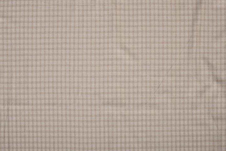 LINNEN VISCOSE EMBRODERY SMALL CHECK 11564/151 per 25cm