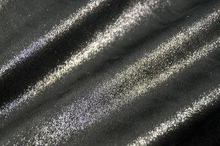 Suedine zwart glans NB 9083/069  per 25cm