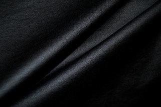 Kunstleer zwart met stretch 5110/069 per 25 cm
