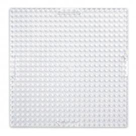 Basisplaat transparant klein vierkant 6x6 cm