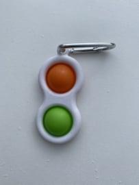 Simpel Dimpel Oranje/Groen