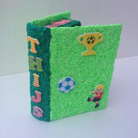 Foam Clay Voetbal geheimboek knutselpakket