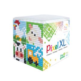 Pixel XL kubus boerderij