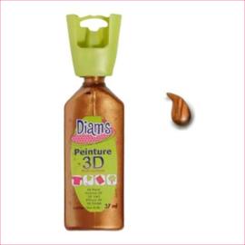 Diam's 3D verf parelmoer caramel 37 ml
