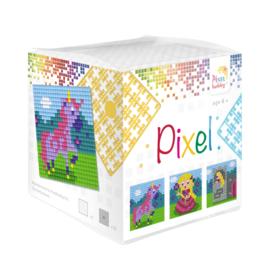 Pixel kubus prinses