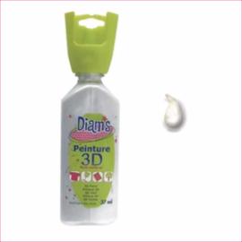 Diam's 3D verf parelmoer wit 37 ml