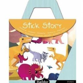Avenue Mandarine Sticker Story Dino's