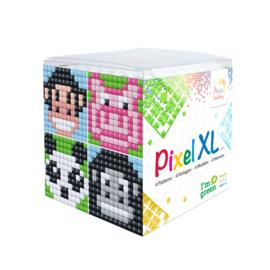 Pixel XL kubus dieren 1