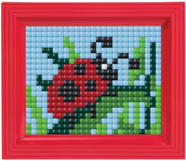 Pixelhobby XL geschenkverpakking Lieveheersbeestje