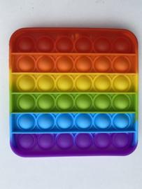 Fidget Toys Pop It Regenboog rood