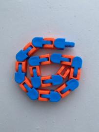 Fidget Toys Wacky Track Blauw/Oranje