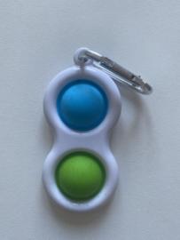 Simpel Dimpel blauw/groen
