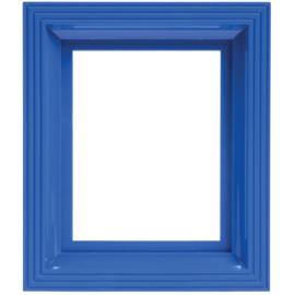 Pixelhobby  kunststof lijst donkerblauw