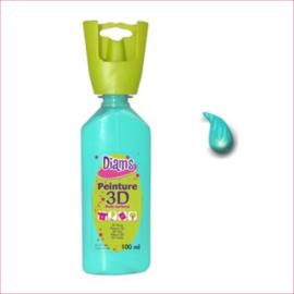 Diam's 3D verf glanzend zee groen 37 ml