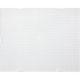 Basisplaat transparant rechthoek 10x12 cm