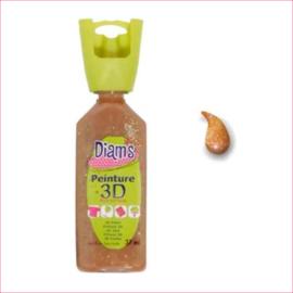 Diam's 3D verf transparant glitter cola 37 ml