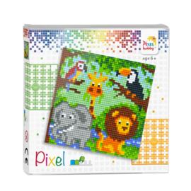 Pixelhobby classic set Jungledieren