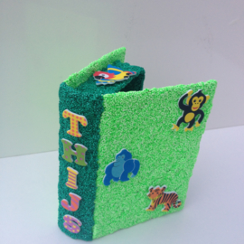 Foam Clay Jungle geheimboek knutselpakket
