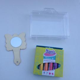 Diam's 3D verf pimp je eigen handspiegeltje knutselpakket