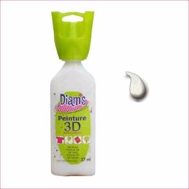 Diam's 3D verf Special Effects transparante glitter sneeuw 37 ml