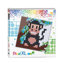 Pixelhobby XL set baby aapje