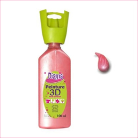 Diam's 3D verf parelmoer zalm 37 ml
