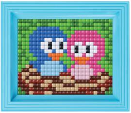 Pixelhobby XL geschenkverpakking Vogeltjes