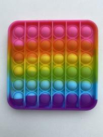 Fidget Toys Pop It Regenboog roze