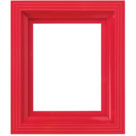 Pixelhobby  kunststof lijst rood