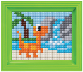 Pixelhobby XL geschenkverpakking Dino