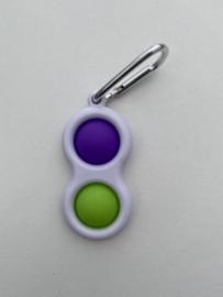 Simpel Dimpel Paars/Groen