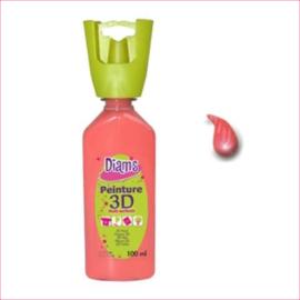 Diam's 3D verf glanzend zalm 37 ml