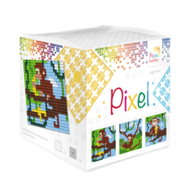 Pixelhobby kubus Aapjes