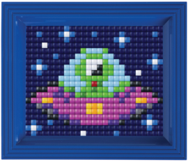 Pixelhobby XL geschenkverpakking Alien