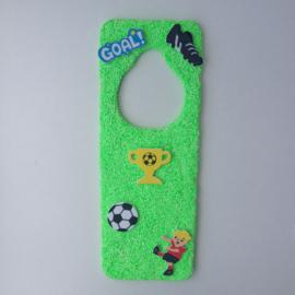 Foam Clay Voetbal deurhanger knutselpakket