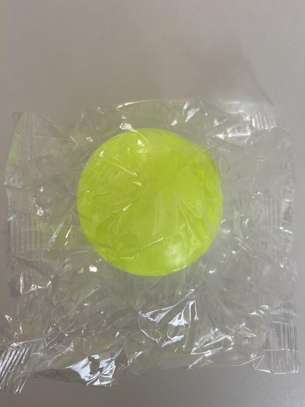 Fidget Toys Glow Ball geel