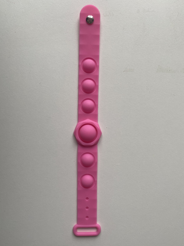 Fidget Pop It armband roze